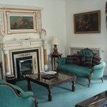 Imposing fireplace