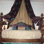 Enormous canopied bed