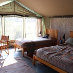 Our tent at Porini Lion Camp