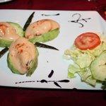 Beautiful! Avocado and Prawn