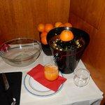 お気に入りのオレンジジュース絞り機