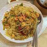 Vermicelli mixed noodles.