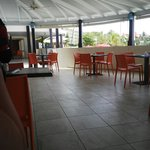 Sea Fans Restaurant for breakfast