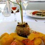 Shrimp with Mango Sauce