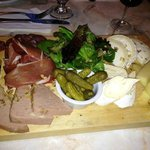Cheese and Meat Board Appetizer