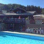 La nostra piscina riscaldata a 1800 mt…