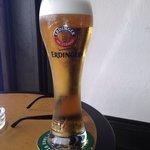 large beer...
