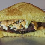 The Oakie Reuben - made with brisket