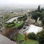 Vista do alto do Palácio