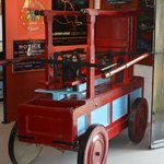 Hand operated fire pump