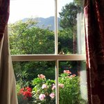 A room with a view - miraculously Borrowdale in sunshine!