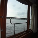 view from bedroom - houseboat