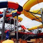 The big water slides