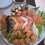 Sushi combo for two
