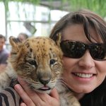 Holding the baby liliger