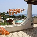 Terrace sea view -Hotel Bougainville a Lipari