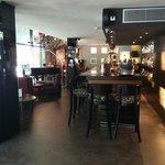 Bar restaurant area