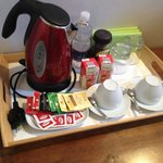 In-room refreshments