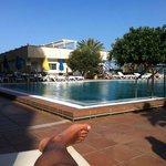 La piscina es un excelente lugar para relajarse