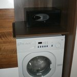 1213 Safe and Washing Machine