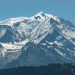 Mont Blanc from Jaillet