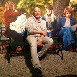 banc public avec ABBA