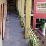Habitaciones - Pasillo exterior