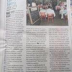 """Crítica en diario nacional """"El Mercurio"""", 18/07/14. El articúlo es congruente con mi propia opin"""