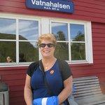 Train station, our destination