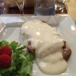 Tagliata with Castelmagno Sauce