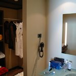 Dressing/wash section of Junior Suite