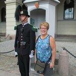 Palace guard and friend