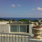 panorama dal terrazzo dell' hotel