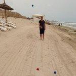 beach boccia fun