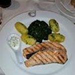 Repas à l'hôtel restaurant
