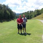 The old man and I on #10