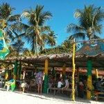 Entrada do Restaurante Mustako, Praia dos Carneiros, Pernambuco.