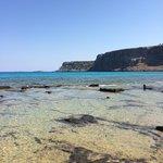 Море с бирюзовой водой