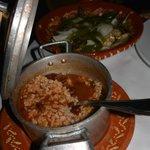 sardines et riz
