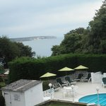 Brilliant view, lovely outdoor pool