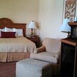 king bed, oceanfront room
