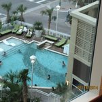 view of pool from 4th floor