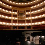 National Theater: view from the orchestra pit