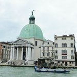 Hotel on the right from across the Grand Canal
