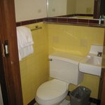 Bathroom - small but adequate