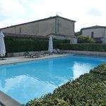 Swimming pool at Les Ormes de Pez
