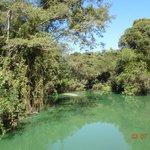 vista de um dos lagos
