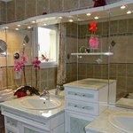 Salle de bain chambre la Bléone