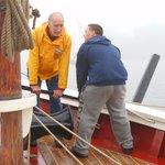 Teamwork ! Raising the Anchor !
