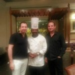 Picture with the talented Chef Velu